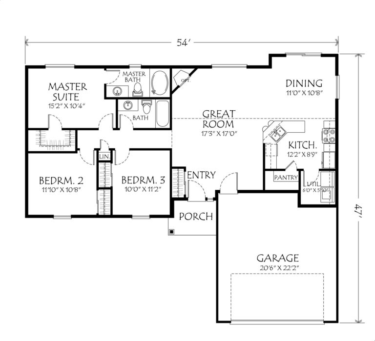 Sauve Heating: Sample house plans