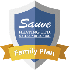 Sauve Heating LTD. & Air Conditioning Family Plan logo