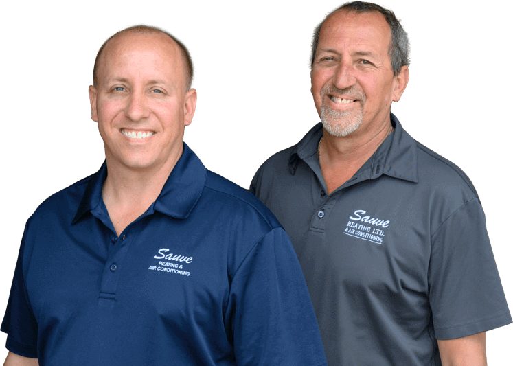 Ben and Don Sauve of Sauve Heating & Air Conditioning