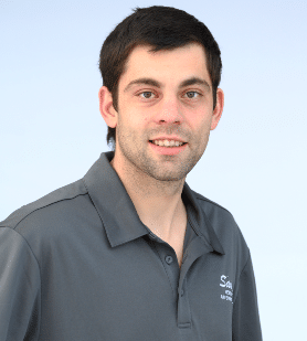 Head shot of Sauve Heating employee, Randy Connolly